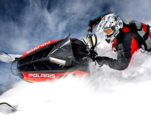 Website & interior design for POLARIS dealership
