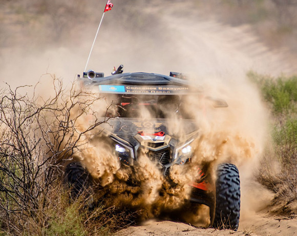 "Website for ""Can-Am X Race"" cross-country rally series"