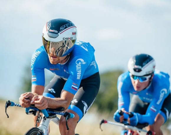 "Website for ""Gazprom-RusVelo"" cycling team"