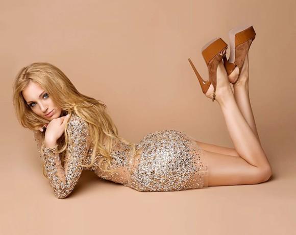 Website for model & TV host Anastasia Barashkova